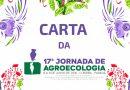 Carta da 17ª Jornada de Agroecologia